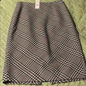 NWT White House Black Market knee length skirt